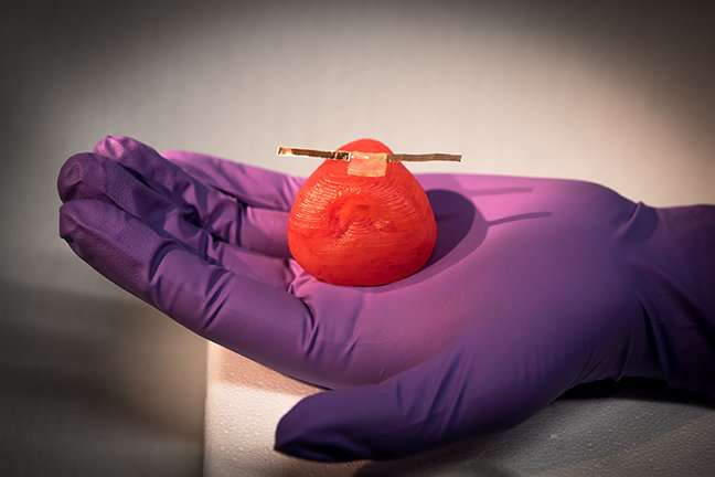 Researchers 3-D print lifelike artificial organ models