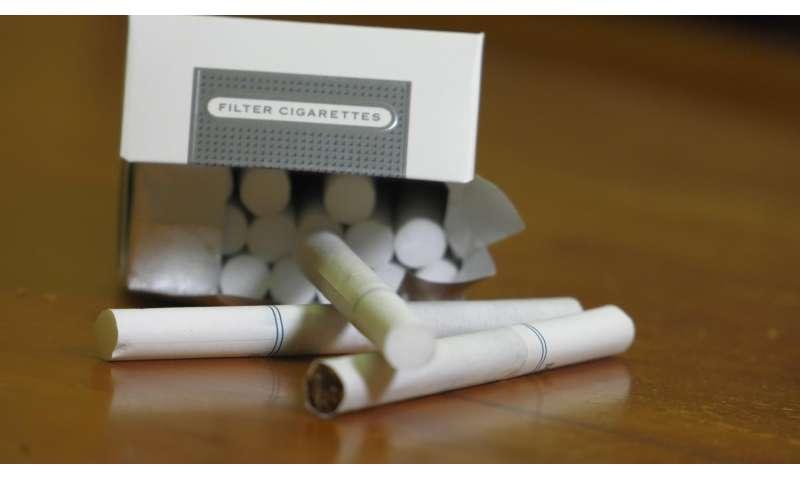 Rise in lung adenocarcinoma linked to 'light' cigarette use
