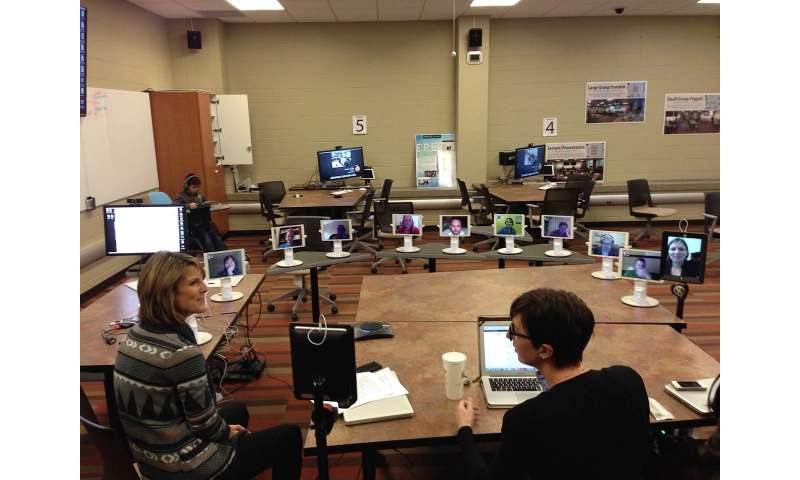 Robot learning improves student engagement