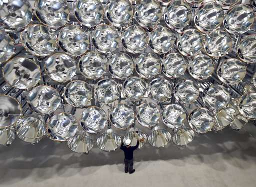 Scientists switch on 'artificial sun' in German lab