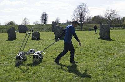 'Secret square' discovered beneath world-famous Avebury stone circle