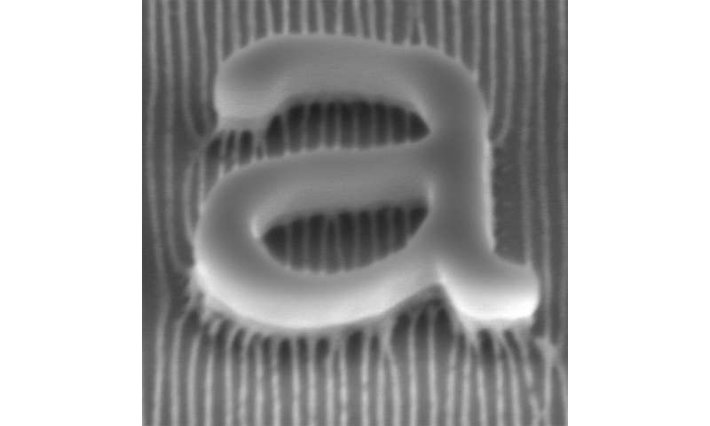 Self-assembling polymers provide thin nanowire template