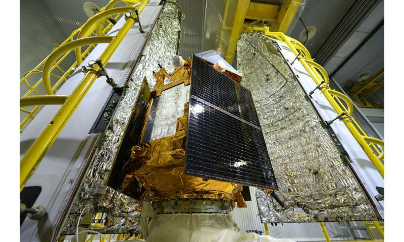 Sentinel-5P sealed from view