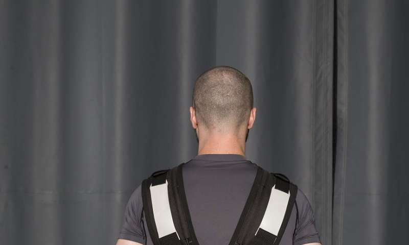 Smart underwear proven to prevent back stress with just a tap
