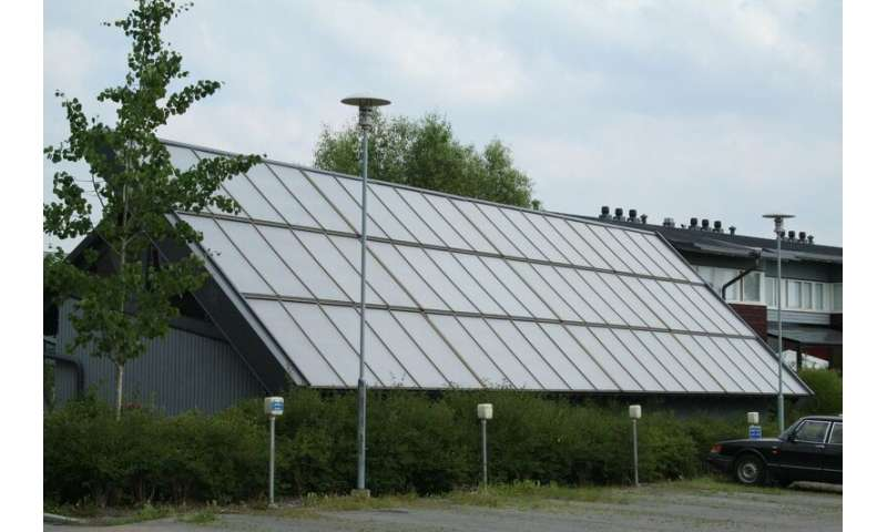 Solar heating could cover more than 80% of domestic heating requirements in Nordic countries