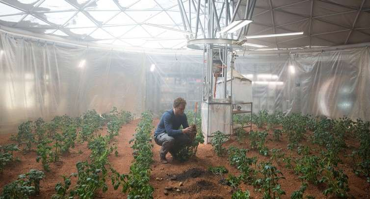 Space farms will feed astronauts and earthlings