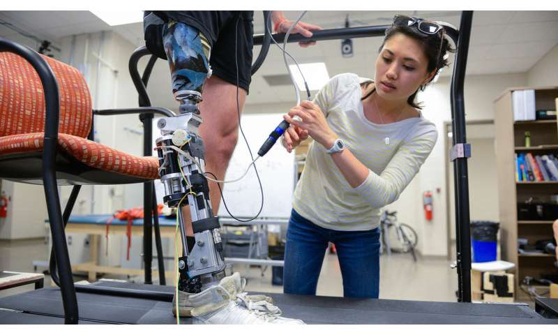 Study shows need for adaptive powered knee prosthesis to assist amputees