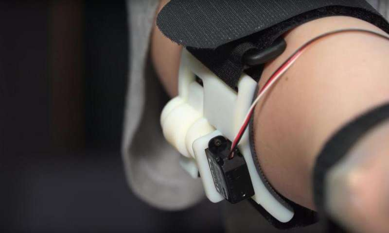 Tactile feedback adds 'muscle sense' to prosthetic hand