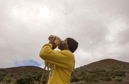 Telescope project still faces fight from Hawaiian opponents