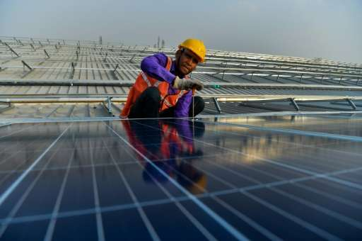 The government has set an ambitious target of harvesting 100,000 megawatts of solar power by 2022—but has installed just 12,500