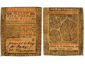 The history of currency and counterfeiting in colonial America