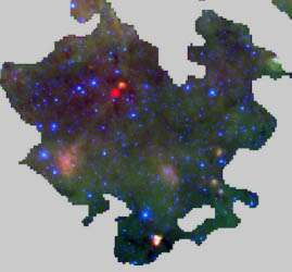 The lifetimes of massive star-forming regions