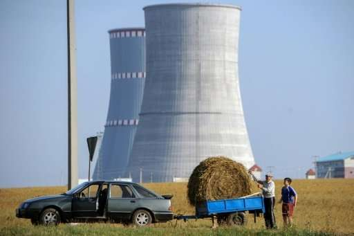 The proximity of a nuclear power plant under construction in Belarus to the border and Lithuania's capital Vilnius has been a so