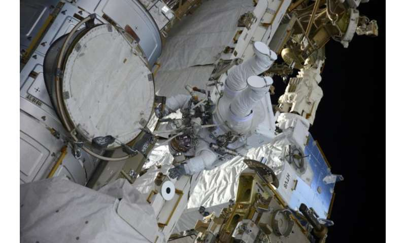 Two more spacewalks for Thomas Pesquet