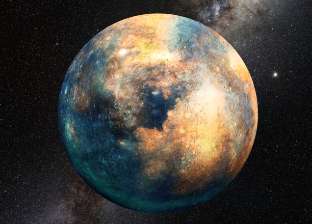 "Unseen ""planetary mass object"" signalled by warped Kuiper Belt"