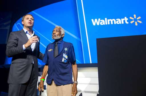 Walmart touts investment in people, technology as advantages