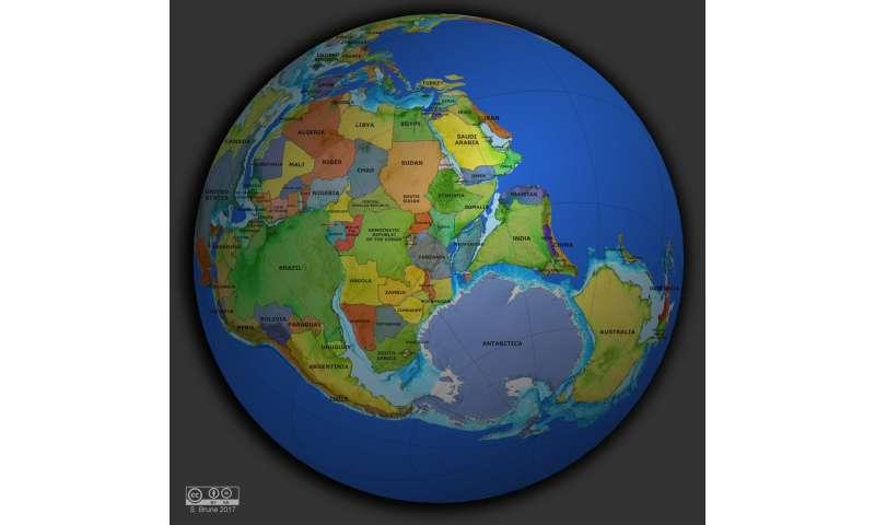 When continents break it gets warm on Earth