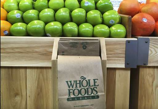 Whole Foods' sales figure falls as Amazon deal looms
