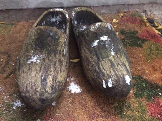 'Wooden shoe' rather wear sneakers?