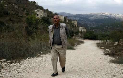 Yacoub Odeh, a 77-year-old Palestinian, says he lived in Lifta as a boy