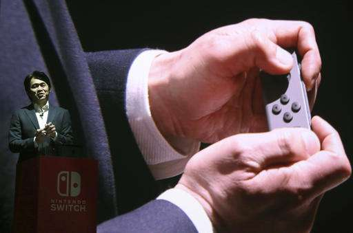 Nintendo debuts hotly anticipated Nintendo Switch console