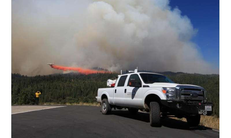 Researchers discover how wildfires create their own weather
