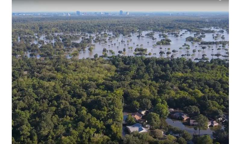 Climate change made Harvey rainfall 15 percent more intense