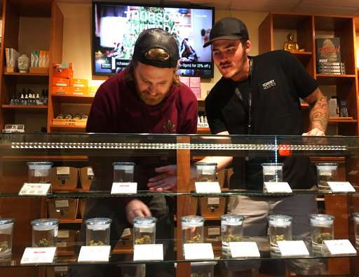 California issues first licenses for legal pot market