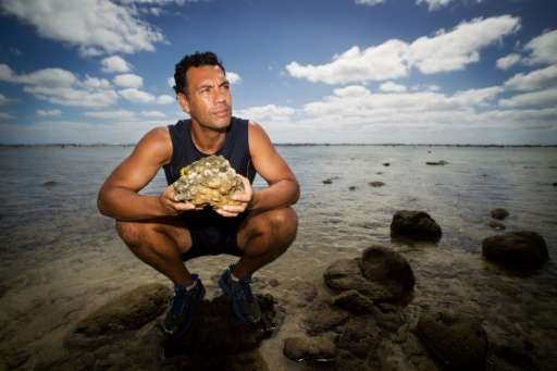Environmentalist Kevin Iro has been campaigning for the creation of the Cook Island's marine sanctuary Marae Moana for more than