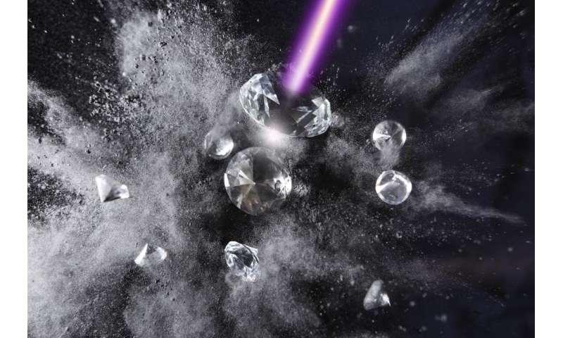 Scientists watch diamond turn into graphite
