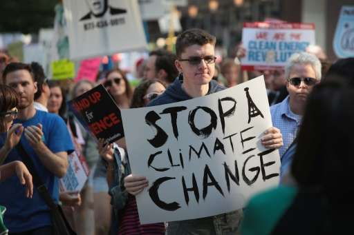 US President Donald Trump caused outrage when he withdrew the United States from the 2015 Paris climate accord