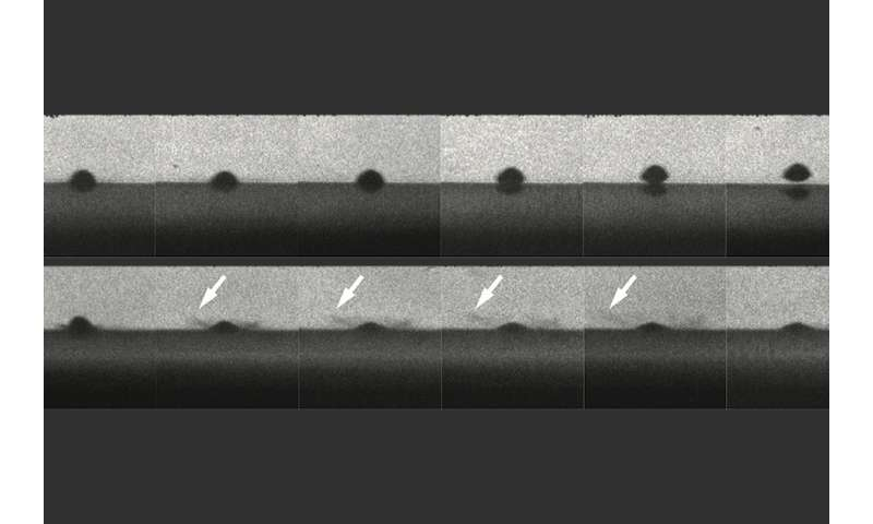 Study shows how to get sprayed metal coatings to stick