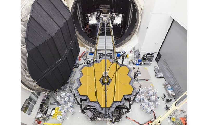 NASA's Webb telescope emerges from Chamber A