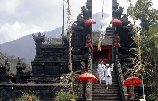 Remembering 1963 eruption, Bali's elderly wary of another