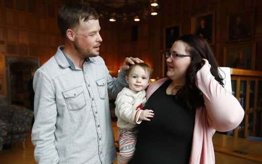 Tearful meeting for pair forever linked by face transplant