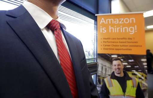 Thousands show up for jobs at Amazon warehouses in US cities