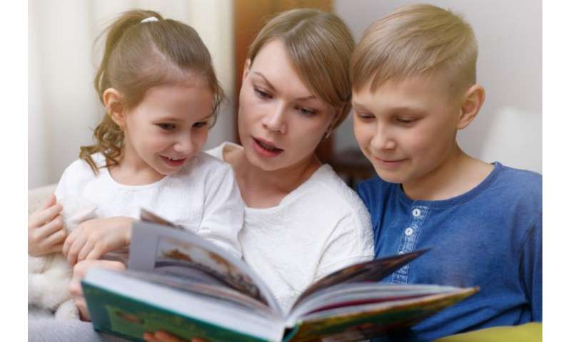 Research shows the importance of parents reading with children – even after children can read