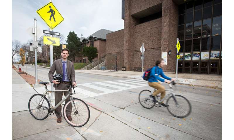 Study suggests investment pays off in safety for walkers, bikers
