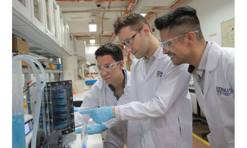 Researchers develop low energy, cost-effective wastewater purification system