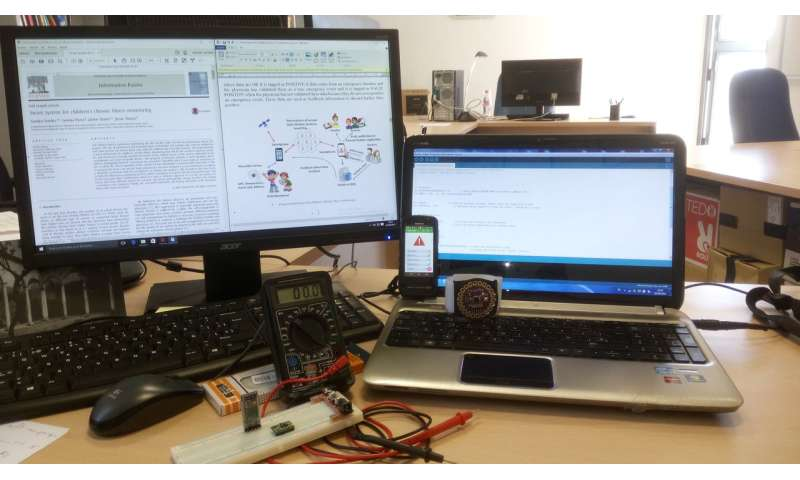 Researchers design a new smart system for children's chronic illness monitoring