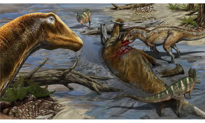 New species of dinosaur increases the already unexpected diversity of 'whiplash dinosaurs'