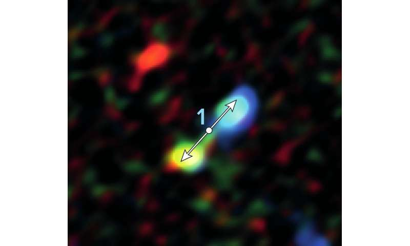 ALMA discovers infant stars surprisingly near galaxy's supermassive black hole
