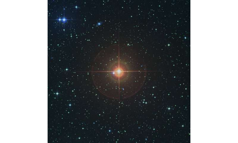 Alma's image of red giant star gives a surprising glimpse of the Sun's future