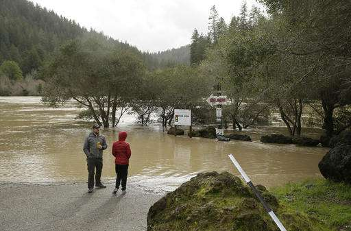'Atmospheric rivers' weather phenomenon soaks California