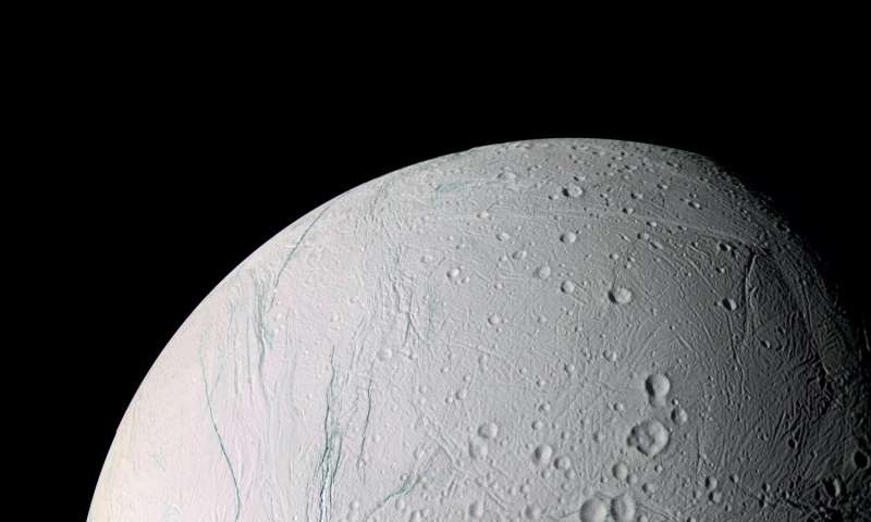 Cassini finds Saturn moon Enceladus may have tipped over