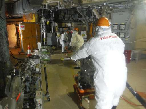 Cleaner robot pulled from Fukushima reactor due to radiation