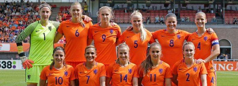 Data analysis is really helping the Dutch national women's soccer team