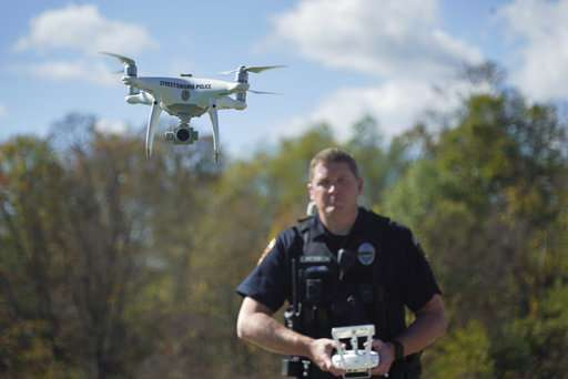 Drones become crime-fighting tool, but perfection is elusive