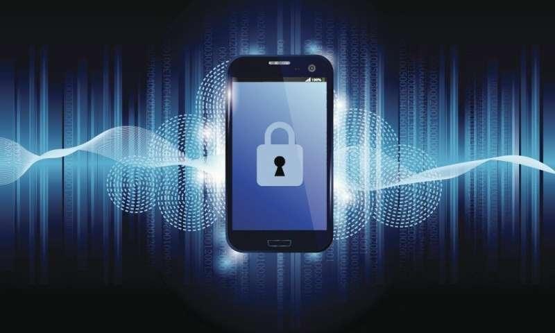 Electromagnetic emissions from smartphones analyzed for security vulnerability