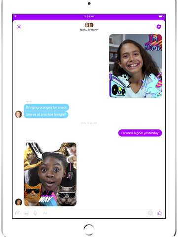 Facebook launches parent-controlled Messenger app for kids